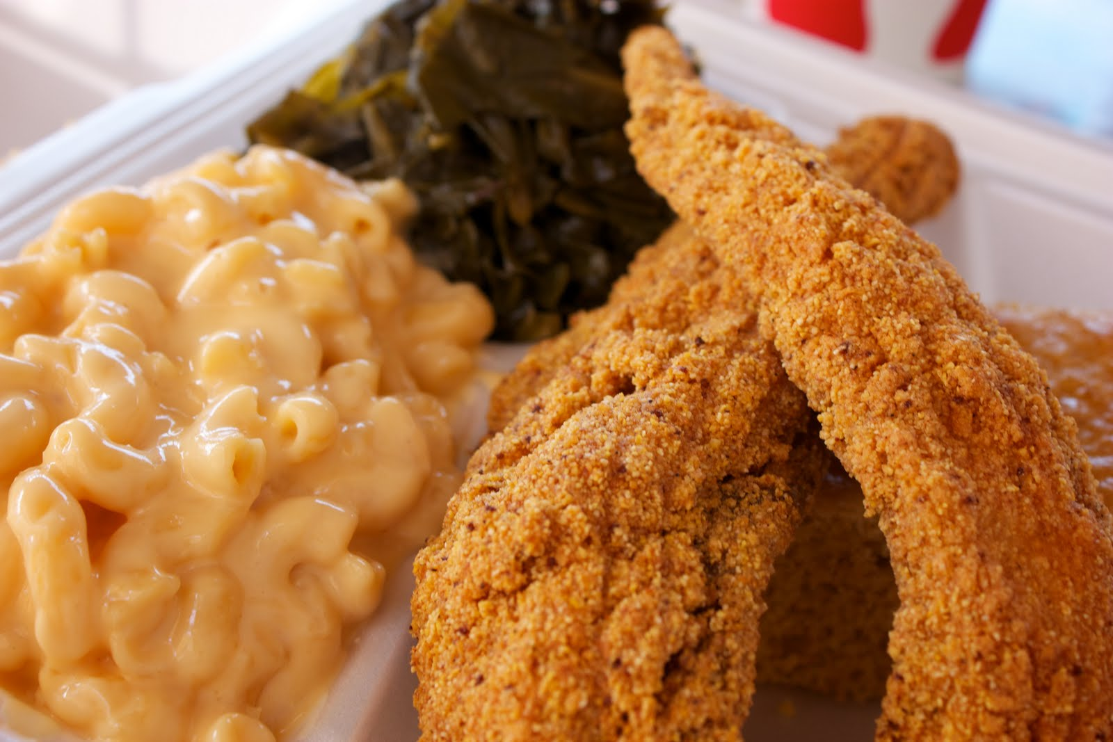 Catfish Dinner Plate & Order Food Online - Angel City Deli