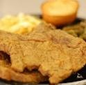 Pork Chop Dinner Plate