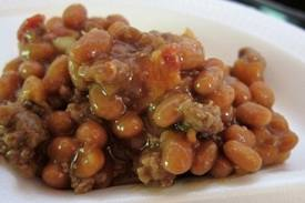 Large BBQ Baked Beans