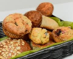 Assorted pastries, breads & rolls