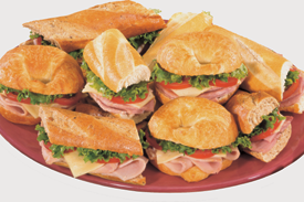 Deli Sandwich Platter 10 Servings