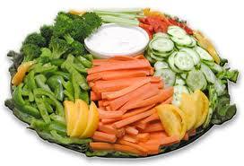 Large Veggie Platter 20 Servings