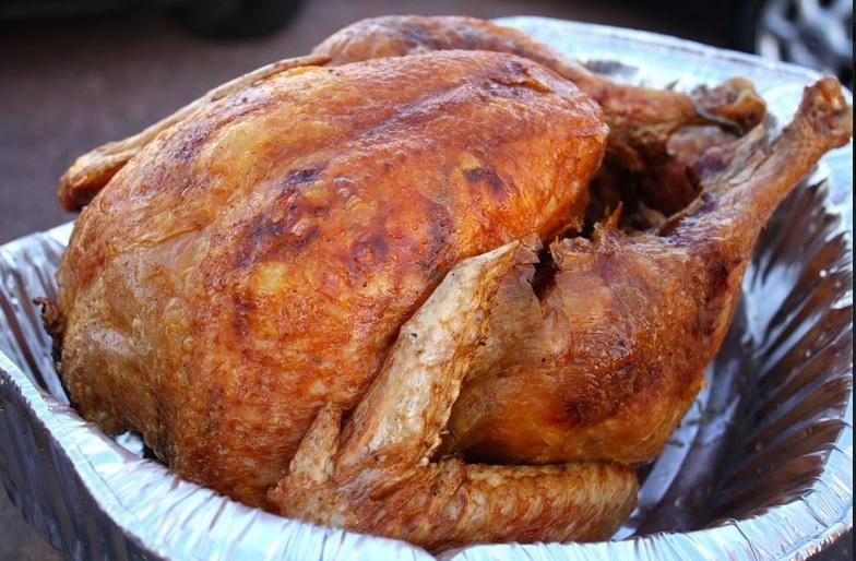 Roasted Seasoned Whole Turkey