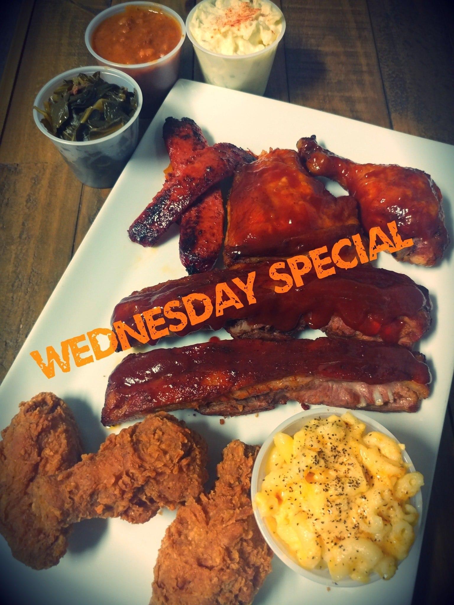 WEDNESDAY: Soul Food Potluck